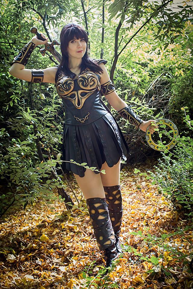 Xena Warrior Princess Cosplay « Adafruit Industries ...