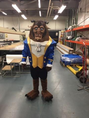Beast costume 1