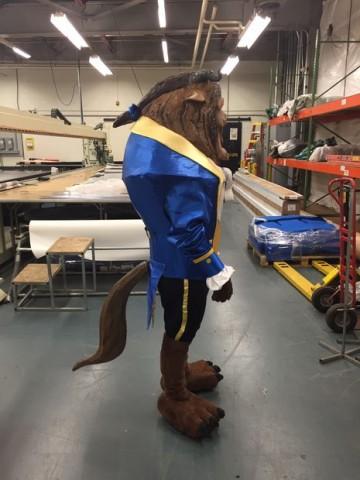 Beast costume 4