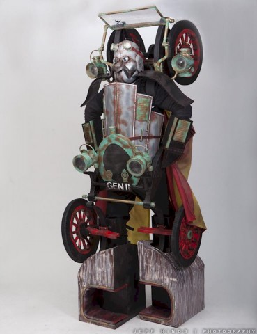 Chitty Chitty Bang Bang Transformer cosplay 1