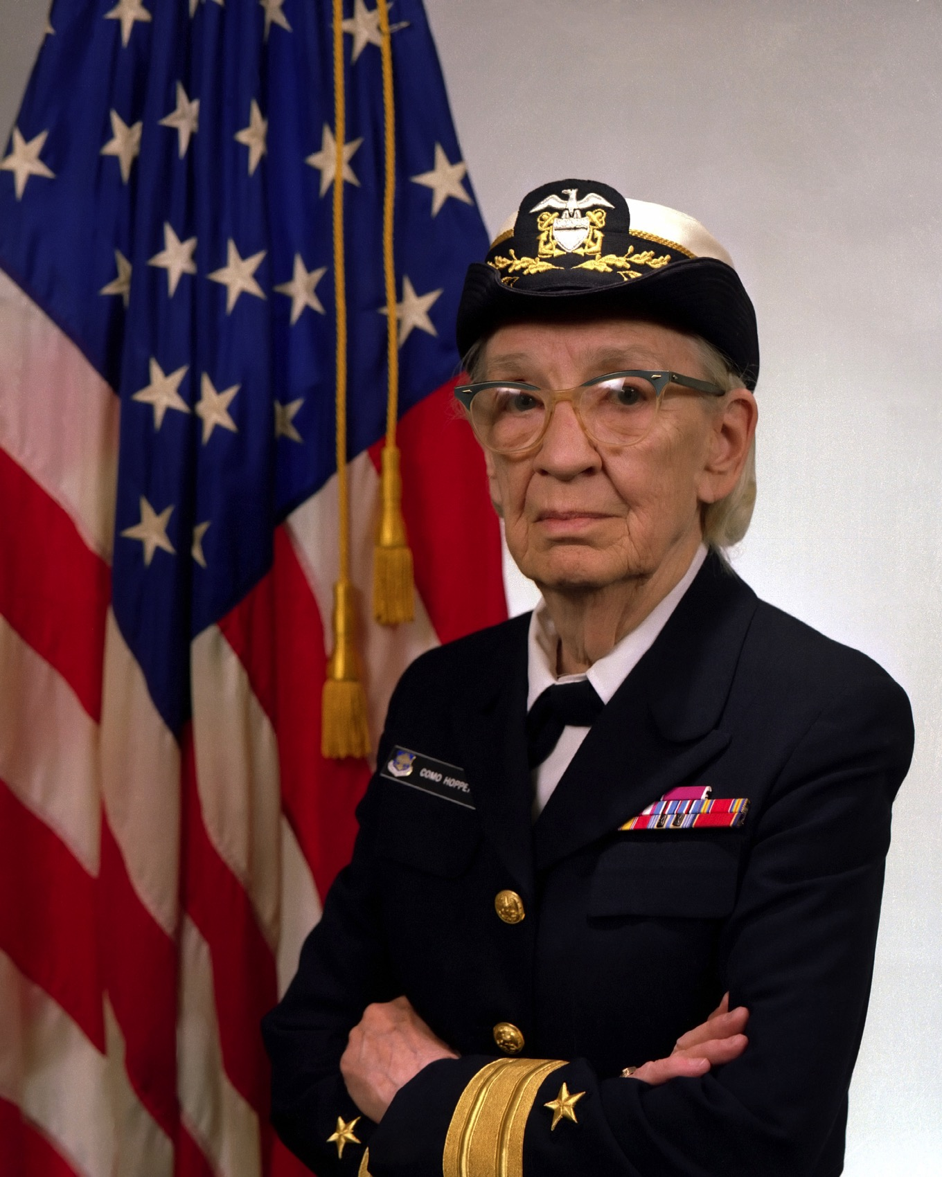 Commodore Grace M Hopper USN covered