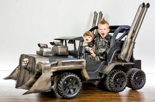 Mad Max Power Wheels Costume