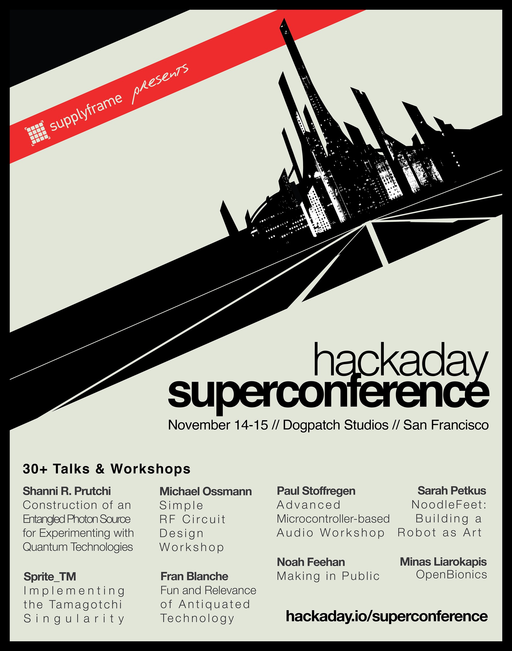 Super Conference Poster