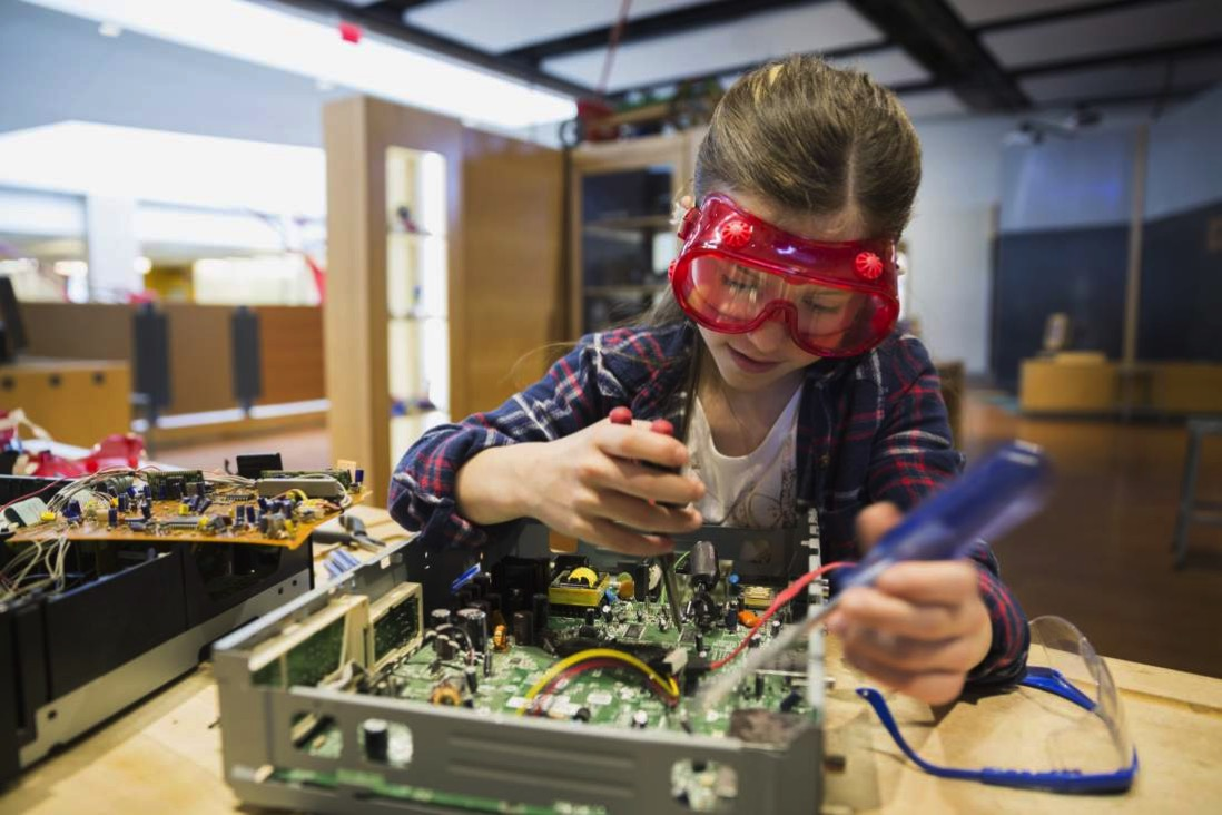 Girl technology engineering
