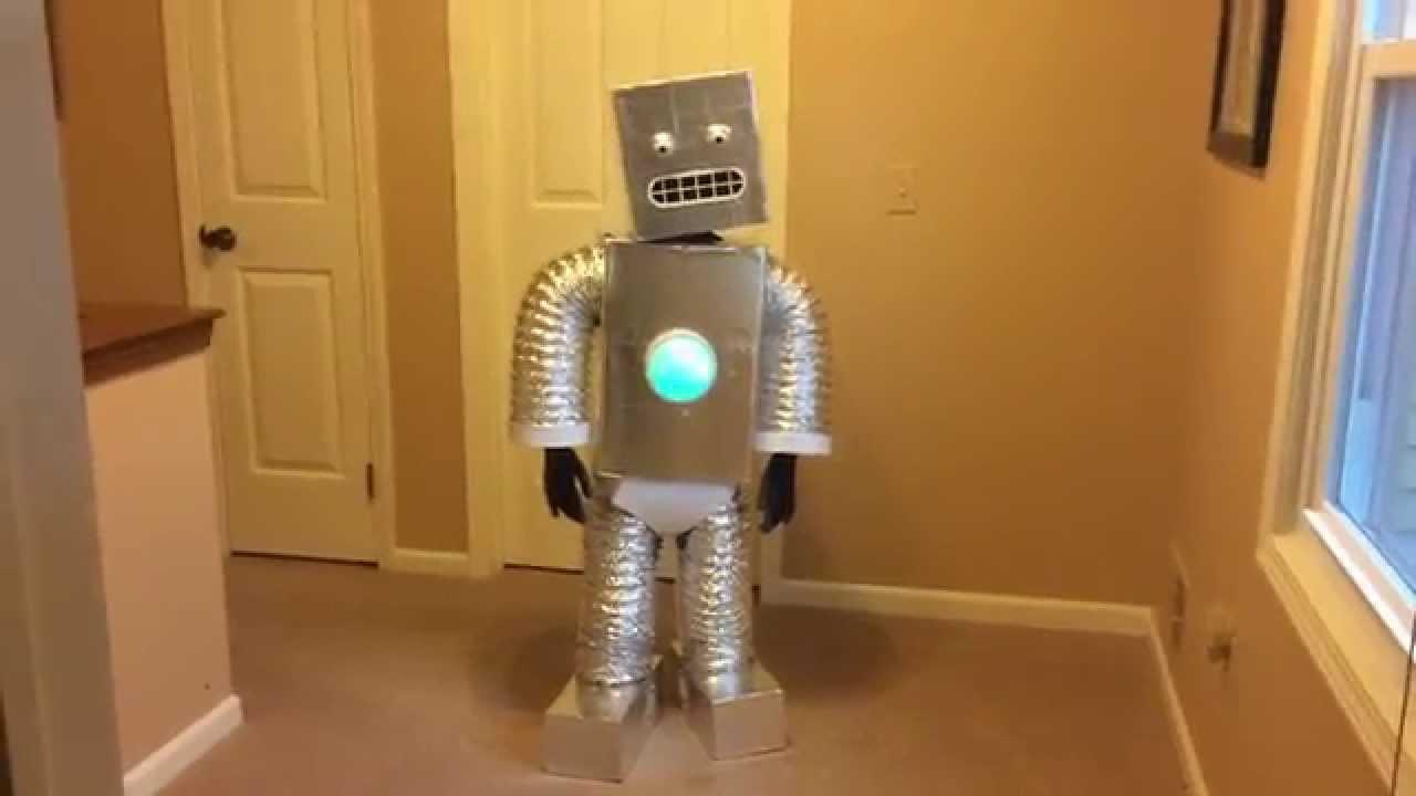 Новогодний костюм робота своими руками. « Мамин 76
