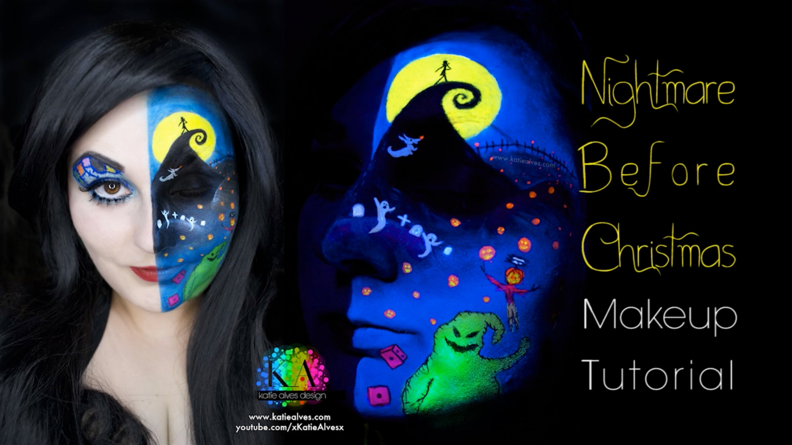 Nightmare Before Christmas Black Light Makeup How-To « Adafruit ...