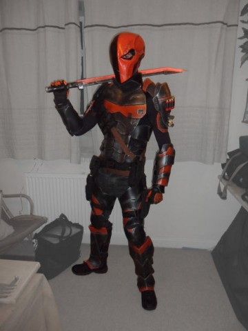Deathstroke cosplay 1