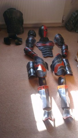 Deathstroke cosplay 4