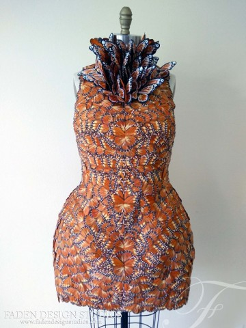 Effie Trinket butterfly dress 1
