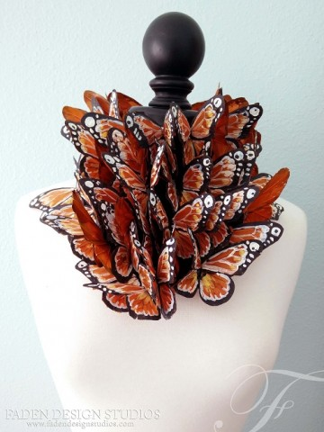 Effie Trinket butterfly dress 3