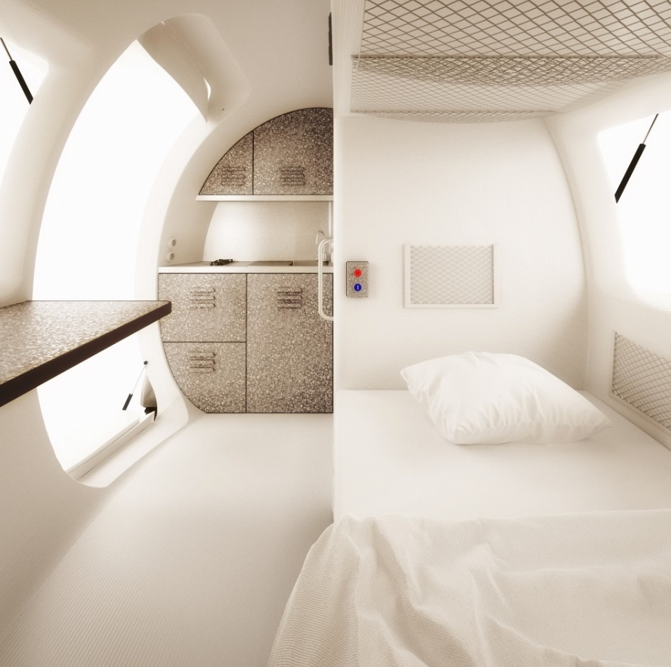 Interior ECOCAPSULE