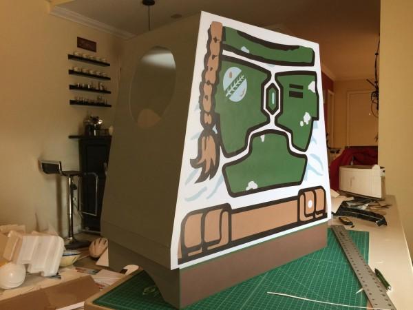 LEGO Boba Fett cosplay 4