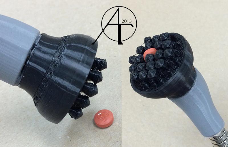 Pill Grabber #3DThursday #3DPrinting