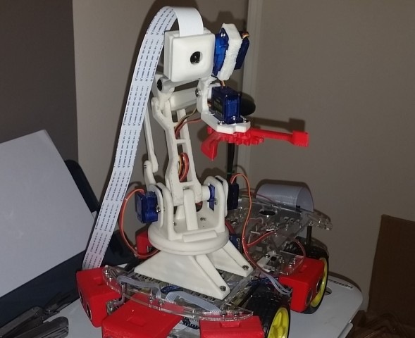 Simple Arm for Robotic Buggy
