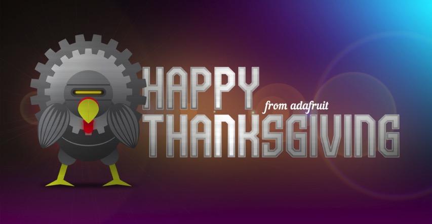 Adafruit thanksgiving googleplus