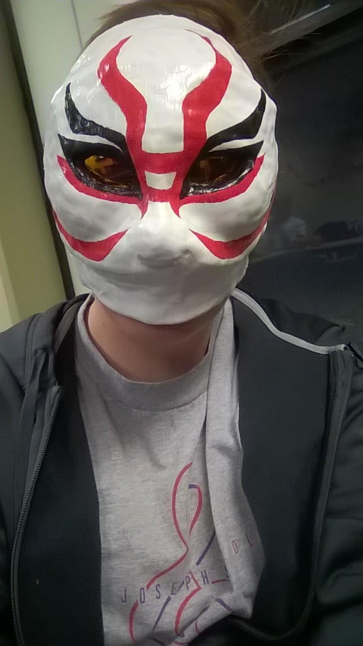 Big Hero 6 Yokai Mask How To Adafruit Industries Makers Hackers Artists Designers And Engineers