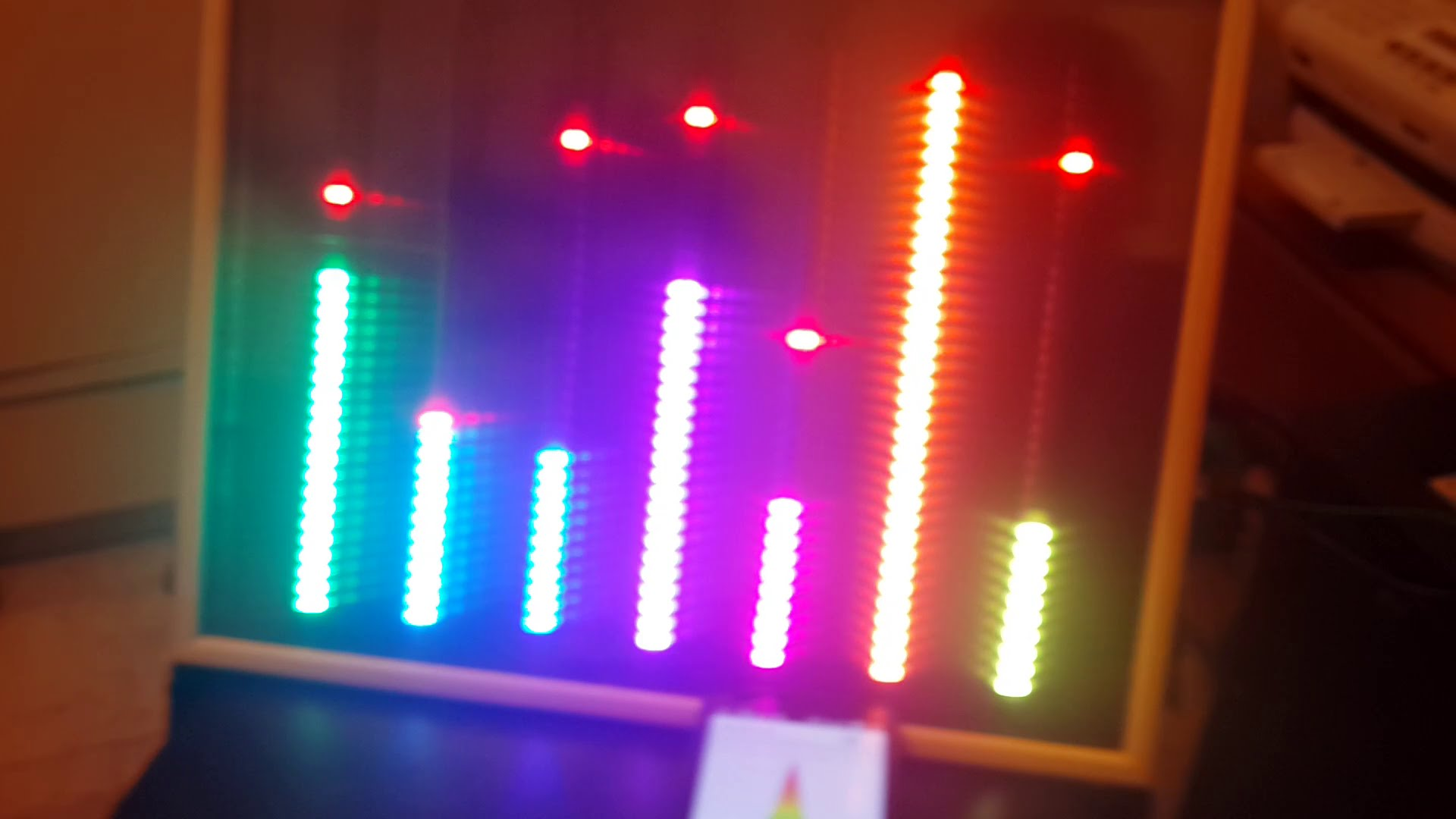 how to make led graphic equalizer