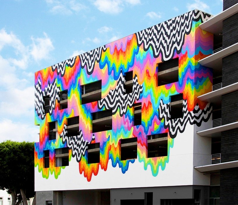 Jen stark drip color platform building culver city california designboom 15
