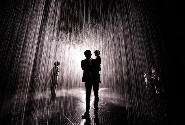 Navidbaraty rainroom 21