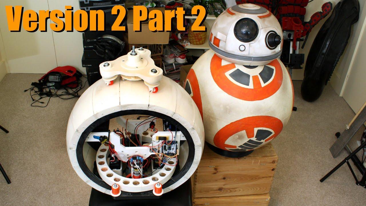 Xrobots star wars bb 8 droid v2 dynamic stability head for Motor wars 2 hacked