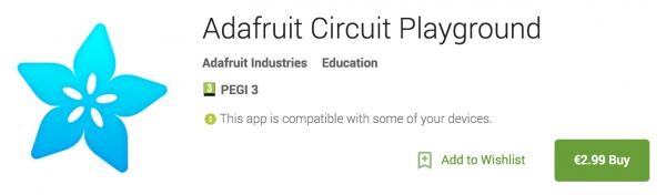 CircuitPlaygroundAndroid