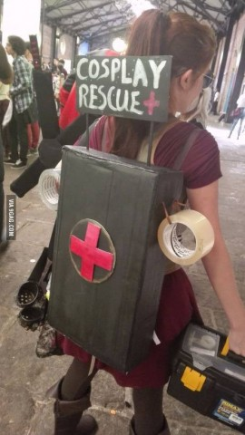 Cosplay Rescue
