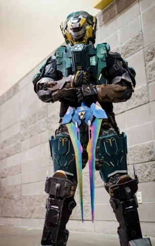 Halo Zelda Cosplay 2