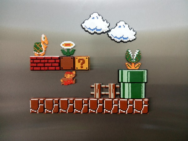 Mario Bros tile set