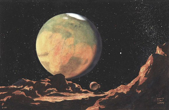 Mars from Demios