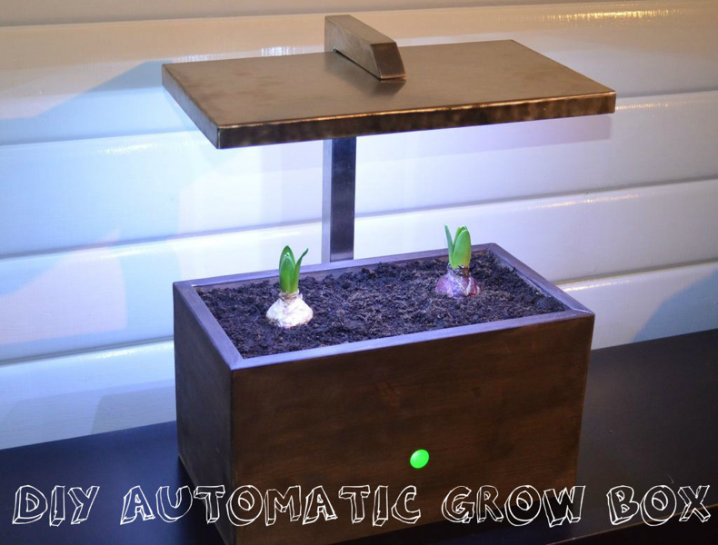 diy grow box with arduino adafruit industries makers. Black Bedroom Furniture Sets. Home Design Ideas