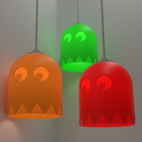 PacMan Inspired Light Shade