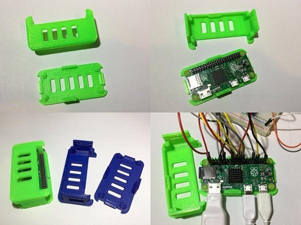 Pi Zero simple case for tinkering