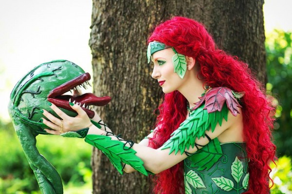 Poison Ivy Cosplay 1