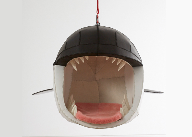 Porky Hefer Fiona Blackfish Monstera Deliciosa killer whale chair Design Miami 2015 dezeen 1568 11