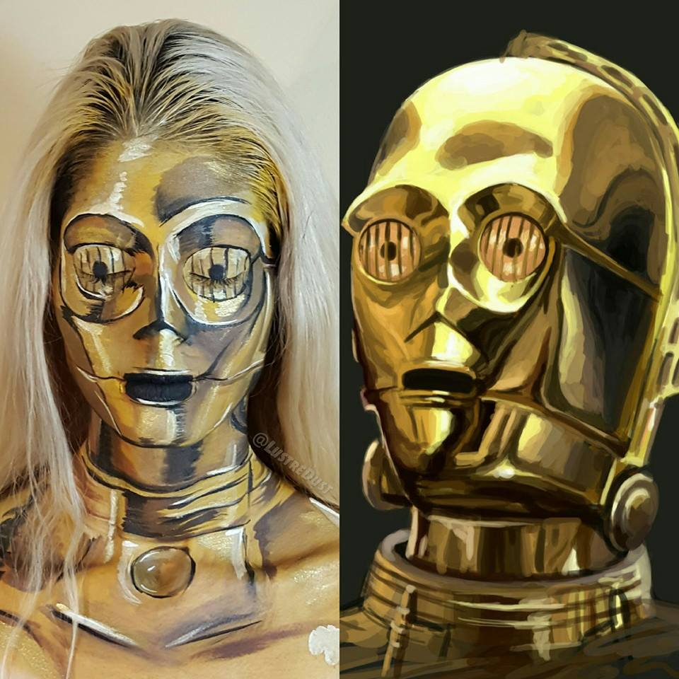 star wars inspired face paint adafruit industries makers hackers artists designers and. Black Bedroom Furniture Sets. Home Design Ideas