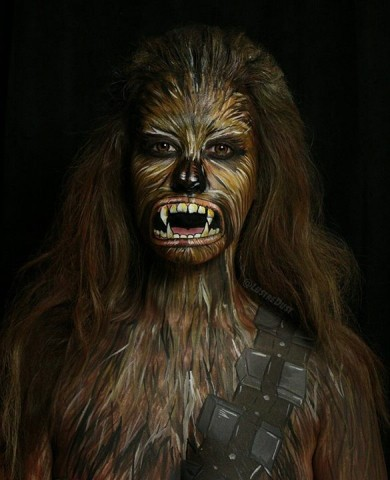 Star Wars make up 2