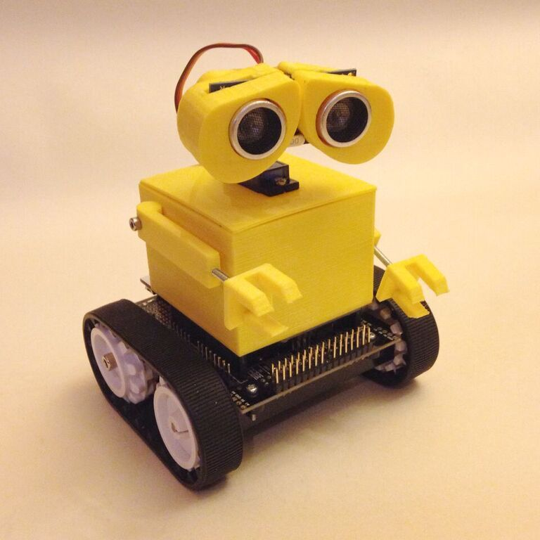 Wall e costume for pololu zumo bot dthursday dprinting