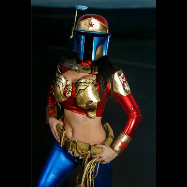 Wonder Woman Boba Fett Costume Mash Up 171 Adafruit