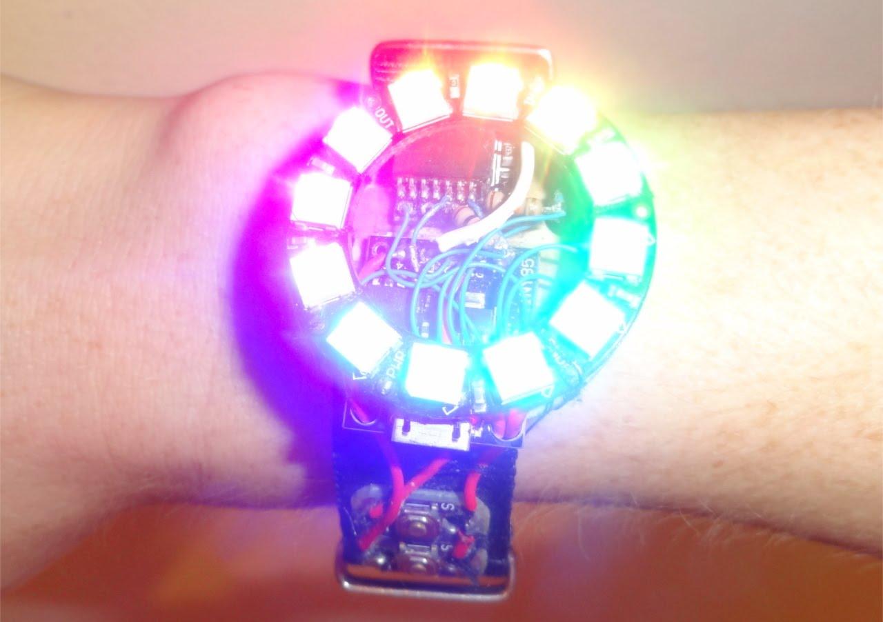 Fully functional arduino smart watch wearablewednesday