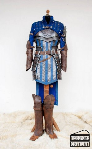 grey warden cosplay 1