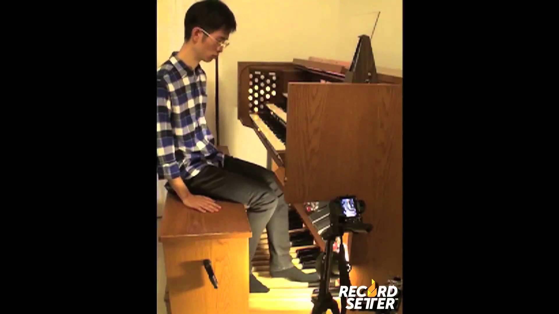 Hong kong musician sets world record for playing a