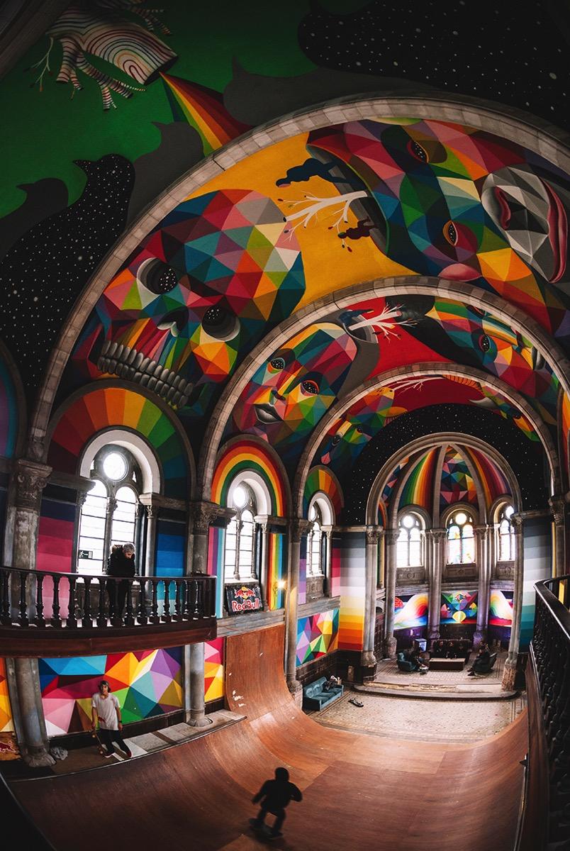 Kaos temple okuda san miguel la iglesia skate church designboom 03