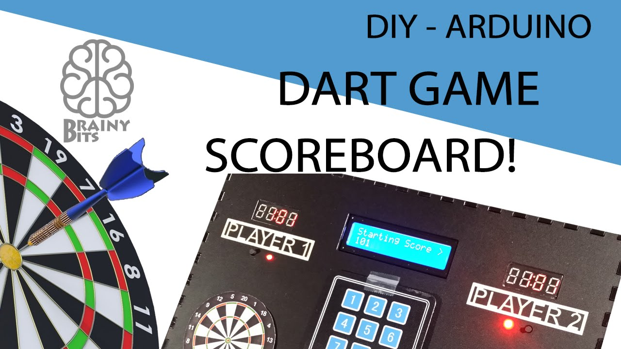 make a dart game scoreboard with arduino  u00ab adafruit