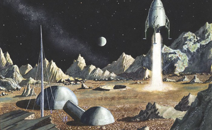 Moon landing 1952