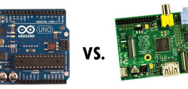 Raspberry pi vs arduino board