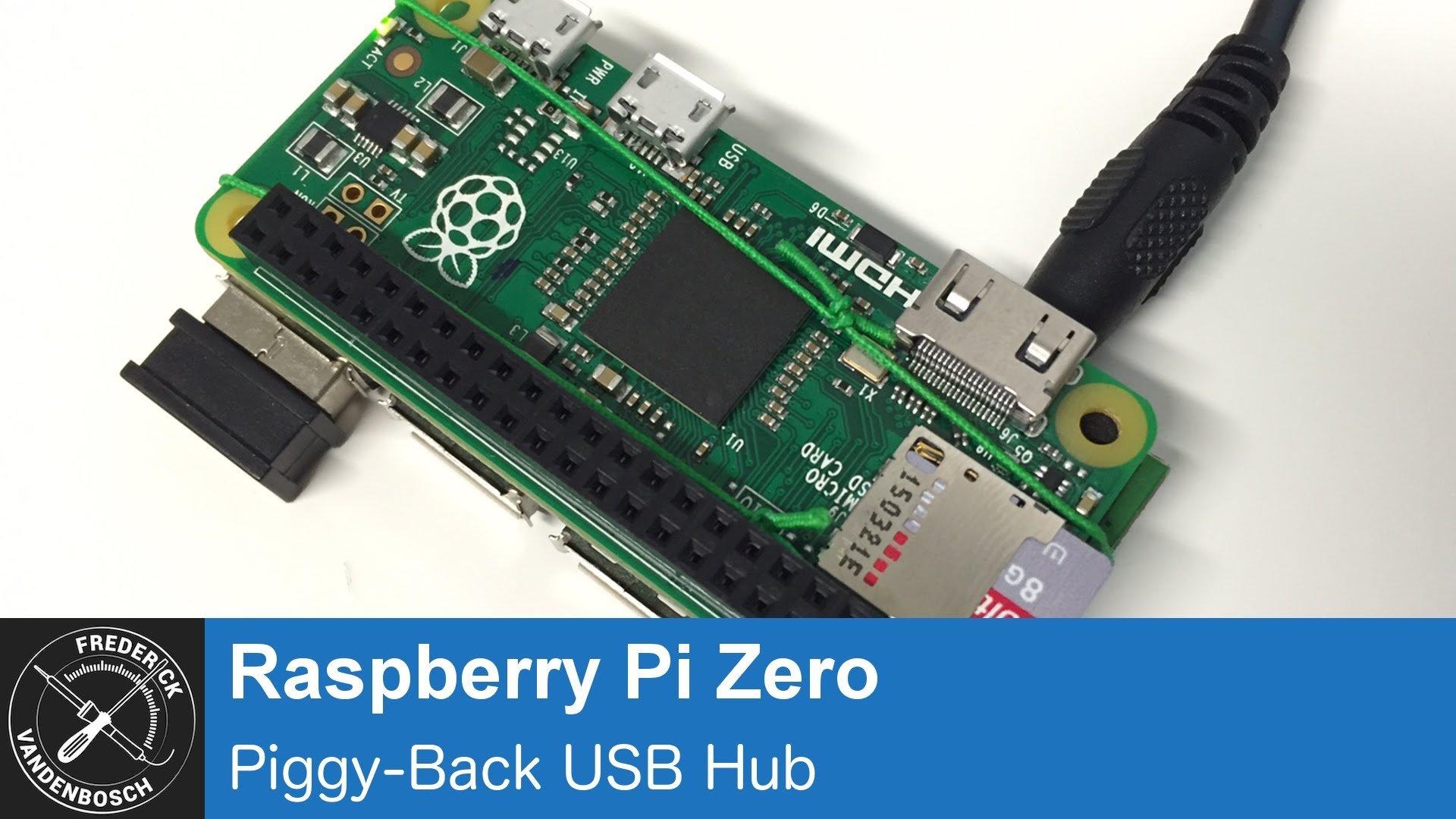 Raspberry Pi Zero Usb Hub Mod Piday Raspberrypi