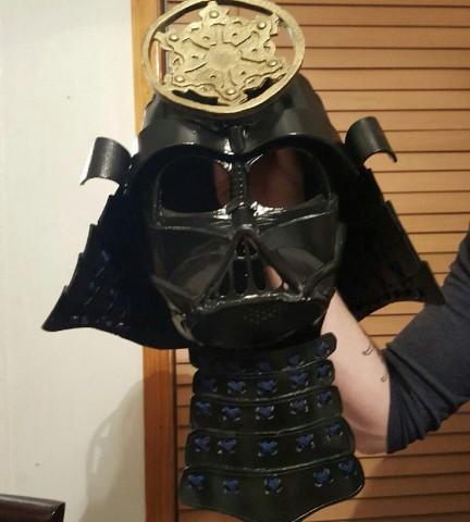 Samurai Darth Vader Costume & Samurai Darth Vader Costume « Adafruit Industries u2013 Makers hackers ...