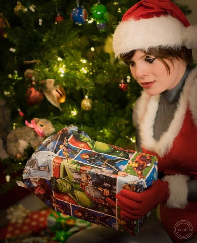 squirrel girl christmas cosplay 2