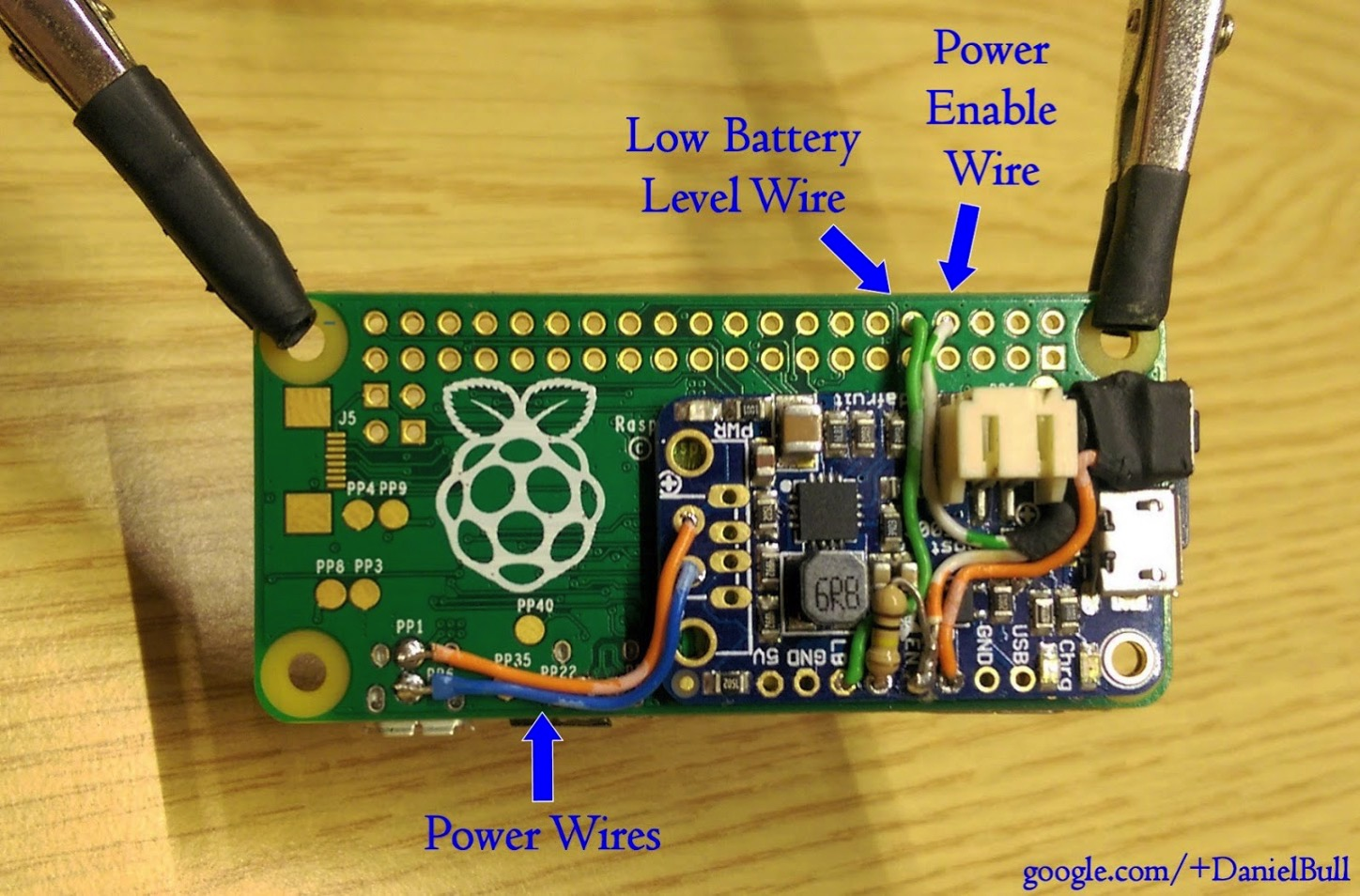 How To Run A Pi Zero And Other Pis From Lipo Including Low 10 Raspberry Led Wiring Diagram Battery Piday Raspberypi