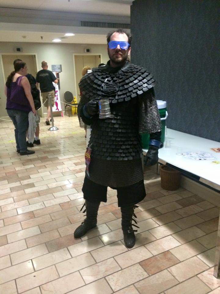 Cables And Sensors >> Game of Thrones Brynden Tully Costume with Handmade Leather Armor « Adafruit Industries – Makers ...
